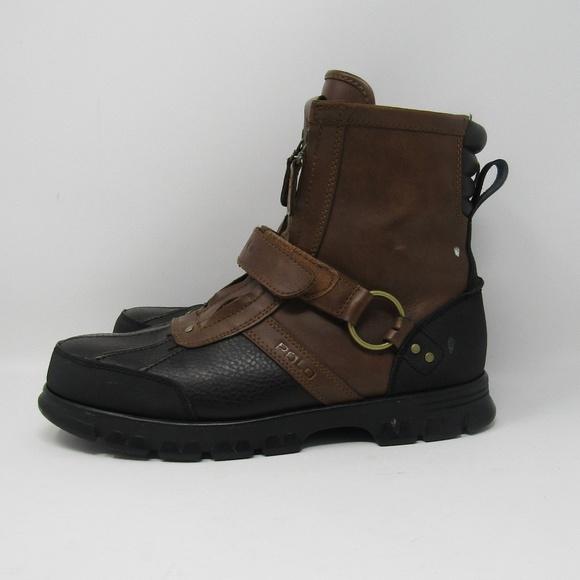 Polo Ralph Lauren Brown Boots High Top